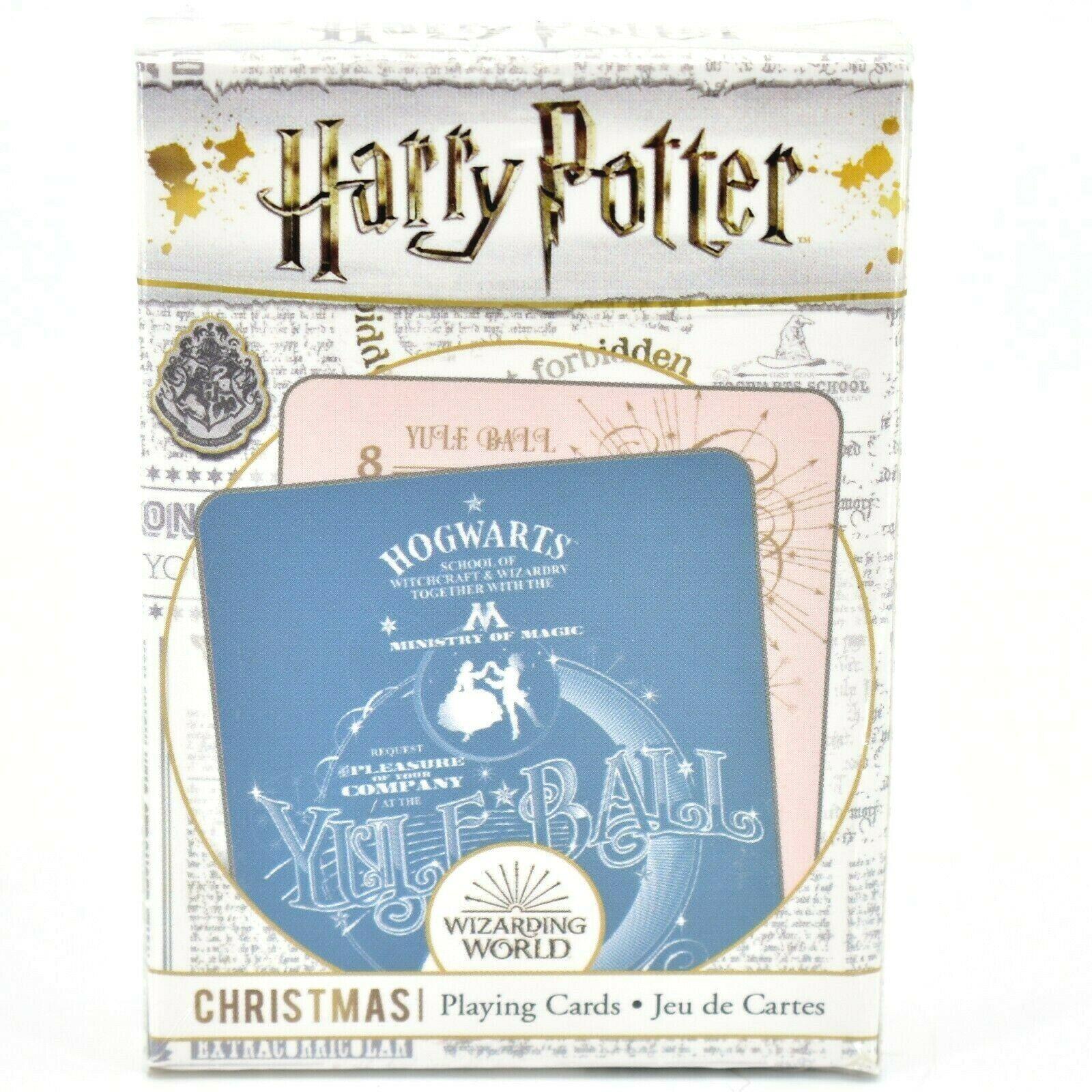Aquarius Harry Potter Yule Ball Christmas Holiday Theme Playing Card Deck
