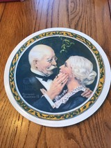 """1976 By R.S. Of A. KNOWLES 1854 """" Christmas 1976 Norman Rockwell """" Ships N 24h - $47.50"""