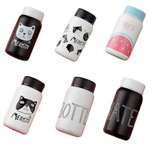 Stainless Steel Thermos For Tea Coffee Mug Children's Cup Cartoon Cats Vacuum - $3.13+