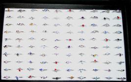 NEW Fashion Jewlery 300 Count Ring lot - $24.02