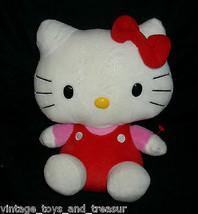 25.4cm Ty Hello Kitty Gorro Buddies Sanrio 2010 Muñeca Peluche Juguete d... - $16.75