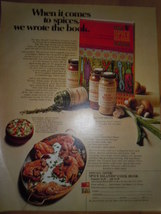 Spice Island Cook Book Offer Print Magazine Ad 1969 - $5.99