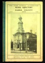 1916 The Farm Journal Darke County Ohio Rural Directory Wilmer Atkinson - $28.45