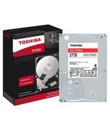 Toshiba 2TB Desktop PC P300 Internal Hard Drive 7200 RPM and 64 MB cache - $58.41