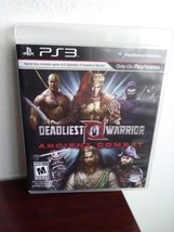 Deadliest Warrior Ancient Combat - PLAYSTATION 3 PS3 - VG - $14.71