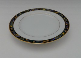 Gorham Fine China from Japan Tristan Gold Bread and Butter Plate Mosiac Edge - $12.86