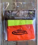 Team Realtree Dog Field Safety Coat Reflective Blaze Orange Size Small 1... - $9.89