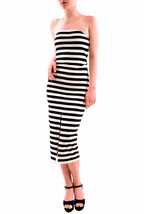 The Fifth Women's Strapless Delta Dress Black And White Stripes S RRP $1... - $90.83
