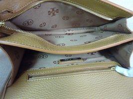 NWT Tory Burch Bark Leather Britten Combo Cross Body bag/Clutch  - $425 image 7