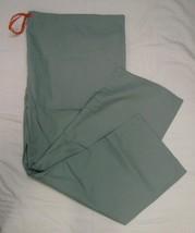 Scrub Pants Pewter Gray Unisex 4XL Orange Drawstring Medical Uniform Bot... - $18.40