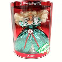 Happy Holidays Barbie Special Edition 1995 Mattel Christmas Barbie - $20.38