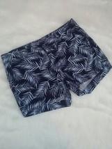 Sonoma Womens Linen Blend Tropical Palm Print Mid Rise Shorts SZ 10 Crui... - $9.89