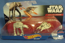 Toys Mattel NIB Hot Wheels Disney Star Wars Die Cast At At vs Rebel Snowspeeder - $16.95