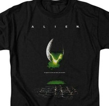 Alien t-shirt retro 70's 80's Sci-Fi horror film Ripley graphic tee TCF100 image 2