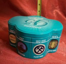 Celebrating 95 Years Of Girl Scouts (1912-2007) Collectible Cookie Tin Container image 4