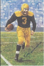 Tony Canadeo autographed signed Goal Line Art Card - $89.99