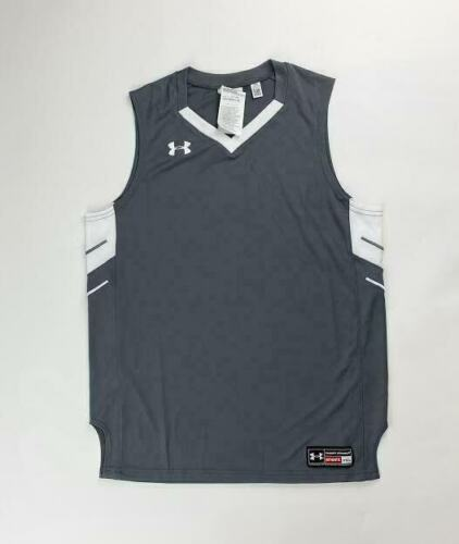 Primary image for Under Armour Basketball Practice Tank Jersey Practice Boy's Large Grey 1287664