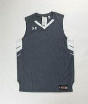 Under Armour Basketball Practice Tank Jersey Practice Boy's Large Grey 1... - $21.77