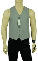 NEW MENS  PERRY ELLIS TRAVEL LUXE WRINKLE RESISTANT GREY PINSTRIPE DRESS... - $19.99