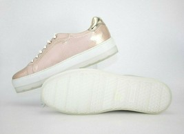 DIESEL S-Andyes Womens Casual Sneakers Snakeskin White Copper Pink  Size... - $74.09