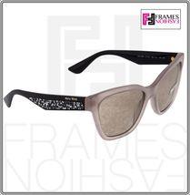 MIU MIU PAVE EVOLUTION MU 06R Square Black Rock Opal Argil Sunglasses MU06RS image 7