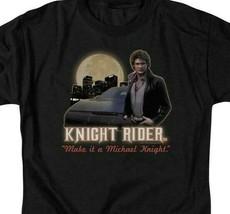 Knight Rider Retro 80s TV series Michael Knight graphic t-shirt NBC102 image 2