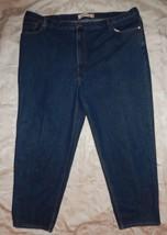 LEVI'S 560 Comfort Fit Tapered Leg Denim Jeans Men's 52 x 33 1/2 Big And Tall - $18.99