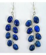 Deep Blue Lapis Lazuli cabochon Oval Branch Dan... - $87.00
