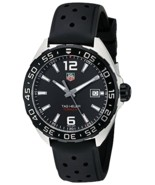 TAG Heuer Men's WAZ1110.FT8023 Formula 1 Stainless Steel Watch with Blac... - $940.50