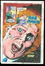 New Titans #89 Production Art Dc Color Guide - $303.13