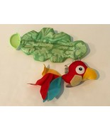 Fisher Price Rainforest Jumperoo Replacement Part Hanging Red Bird Toy w... - $12.99