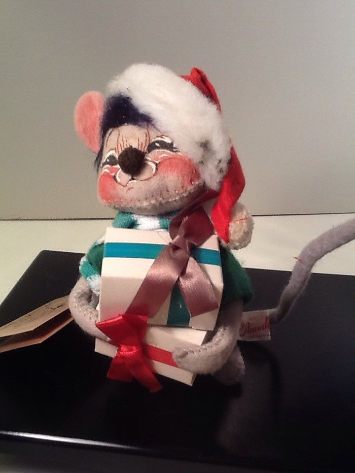 """2004 Annalee 6/"""" Christmas Bells Mouse"""