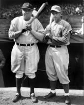 Babe Ruth Jimmie Foxx 8X10 Photo New York Yankees Ny Athletics Baseball Picture - $3.95