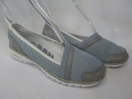 Propet Travellite Size 7 M (B) EU 37 Women's Slip-On Walking Shoes Silver W3248