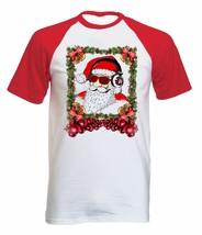 COOL SANTA CHRISTMAS - NEW COTTON BASEBALL TSHIRT ALL SIZES - $19.48