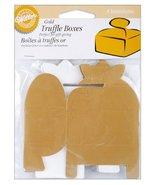 Wilton Truffle Boxes - Gold - $1.94