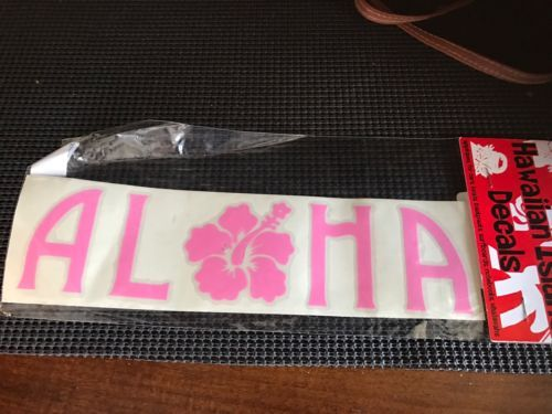 Primary image for Aloha Hawaii Decal Sticker