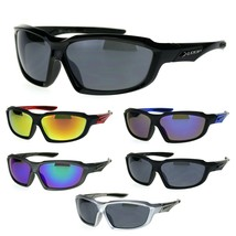 Mens Xloop Warp Around Rectangular Sport Running Sunglasses - $9.95