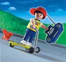 New Playmobil Pals 4636 Skateboard Boy Special Retired - $24.14