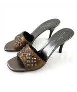Donald J Pliner Couture Nievo Copper Brown Studded Pumps Heels Women 9.5... - £36.11 GBP