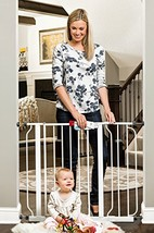 Regalo Easy Step 38.5-Inch Extra Wide Walk Thru Baby Gate, Includes 6-In... - $47.89