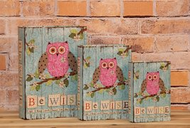 """""""Be Wise And Keep Your Heart On The Right Path"""" Decorative Book Boxes Diversion  - $24.74"""