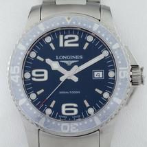 Longines Stainless Steel HydroConquest Men's Quartz Watch L36404 - $694.98