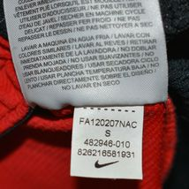 Nike Dri-Fit Elite Black Red Yellow Men's Athletic Basketball Shorts Size S image 6