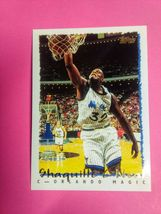 1995 topps Shaquille O'neal # 299 - $30.00