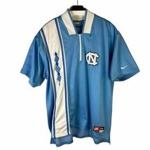 Vintage Nike Mens Blue North Carolina Tar Heels Basketball Pullover T Shirt XXL - $120.28