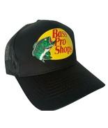 NEW! Black Cap by BASS PRO SHOPS Adult Unisex MESH Style Trucker Hat - $34.88