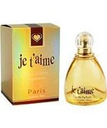 Je T'aime By YZY Perfume 3.3 oz Eau De Parfum Spray For Women - $14.85