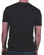 Hawke & Dumar Mens Black Truman Hills Falcons Varsity Cut & Sew T-Shirt NWT image 2