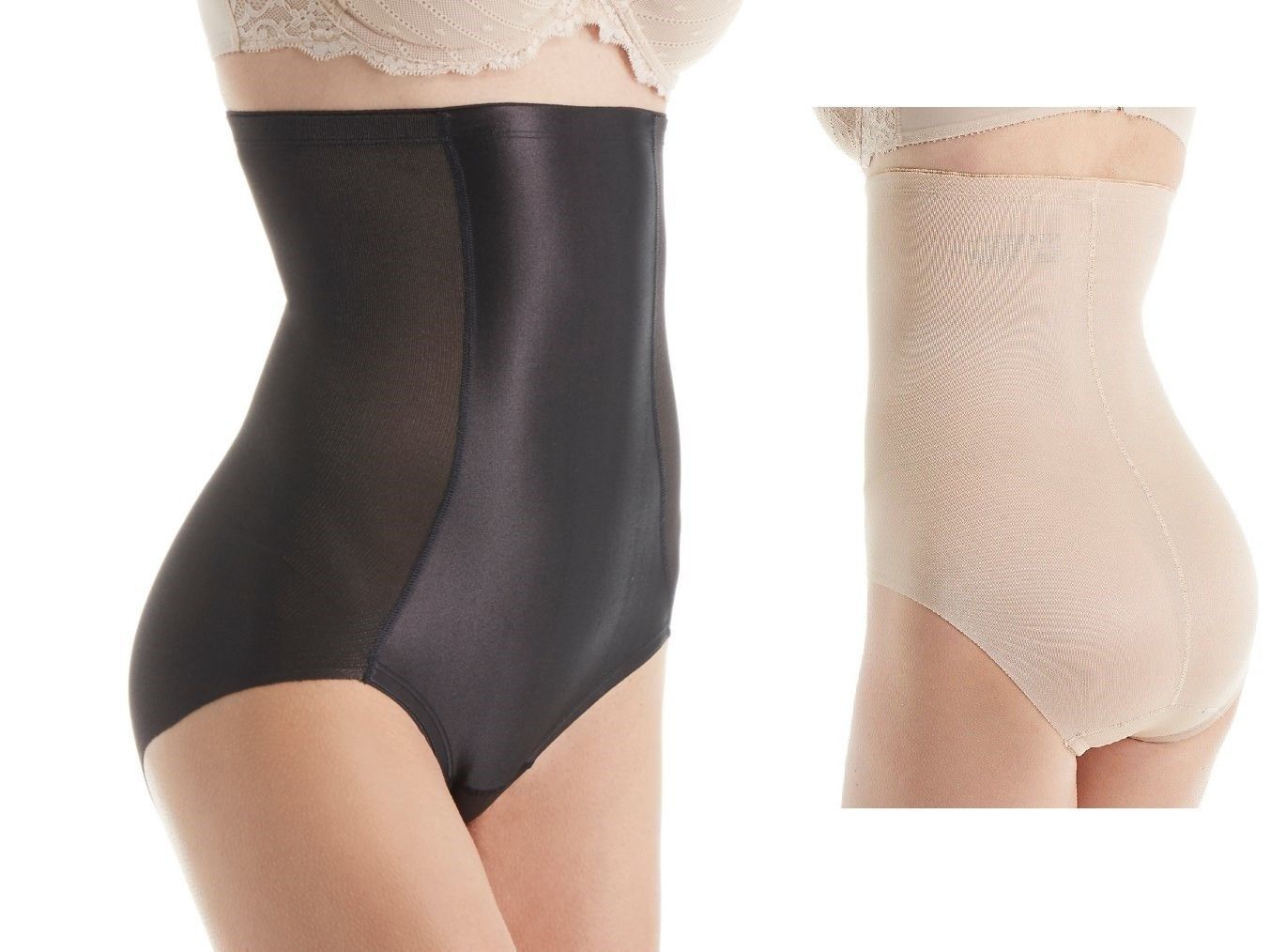 c7d0905f27 Naomi   Nicole Value Firm Control High Waist Shaping Brief 7125 Black Large